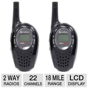 Cobra MicroTalk 2-Way Radios