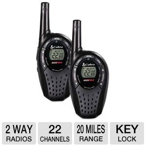 Cobra CX210 MicroTalk 2-way Radios