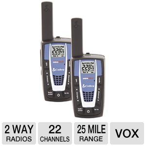 Cobra microTALK CXR 700 2-Way Radio
