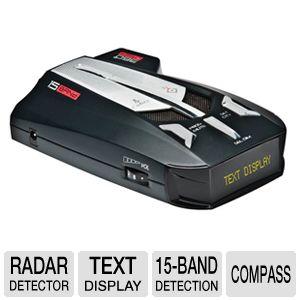 Cobra XRS 9670 Digital Radar/Laser Detector