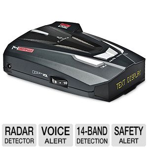 Cobra XRS9570 Voice Alert Radar Detector