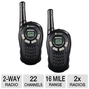 Cobra Electronics 16 Mile Range Two-Way Radios