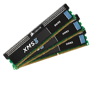 Corsair XMS3 Tri Channel 12GB PC16000 DDR3 Memory