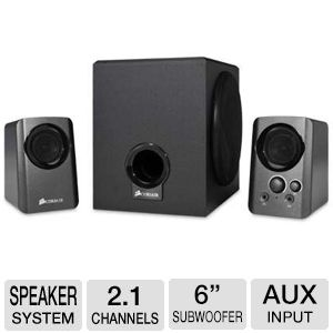 Corsair Gaming Audio Series 2.1 PC Speaker System