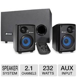Corsair SP2500 Gaming Audio Series Speaker System