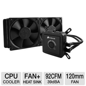 Corsair CWCH100 Hydro H100 CPU Liquid Cooler