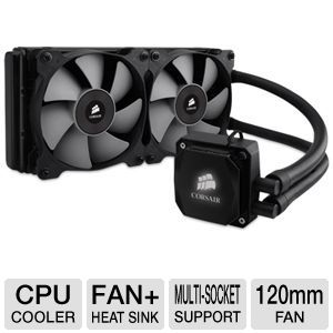 Corsair Hydro Series H100i Liquid CPU Cooler