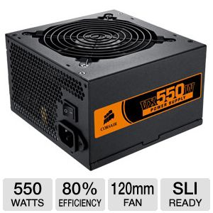 Corsair VX550W 550W ATX Power Supply