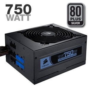 Corsair HX750W 750-Watt Power Supply
