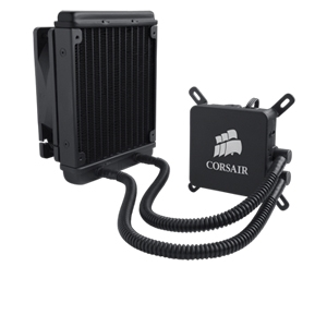 Corsair H60 High Performance Liquid CPU Cooler $51.99