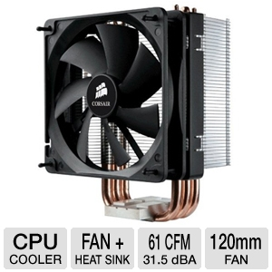 Corsair CAFA50 A50 Air Series CPU Cooler