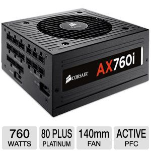 Corsair AX760 760W Power Supply