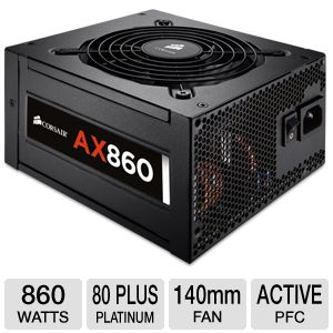 Corsair AX860 860W Power Supply