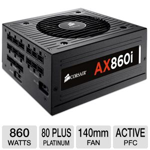 Corsair AX860i 860W Power Supply