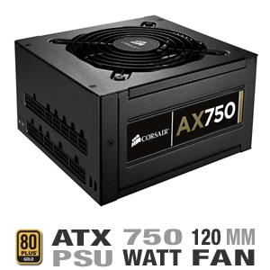 Corsair CMPSU-750AX 750 Watt Power Supply