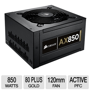 Corsair CMPSU-850AX 850 Watt Power Supply