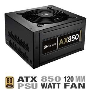 Corsair CMPSU-850AX 750 Watt Power Supply