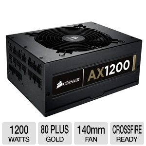 Corsair CMPSU-1200AX 1200-Watt Power Supply