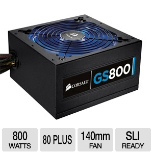 Corsair CMPSU-800G Gaming Series GS800 800W Power