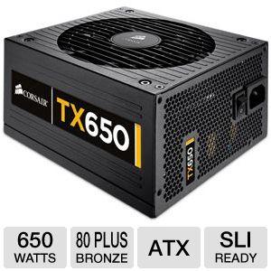 Corsair Enthusiast Series TX650 V2 650W 80+ Bronze