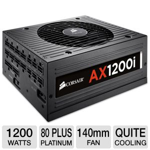 Corsair AX1200i Digital ATX 1200W Power Supply