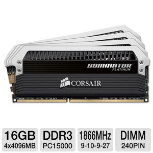 Corsair 16GB Desktop Memory Module Kit