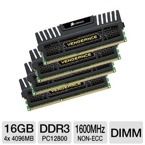 Corsair Vengeance 16GB Desktop Memory Module