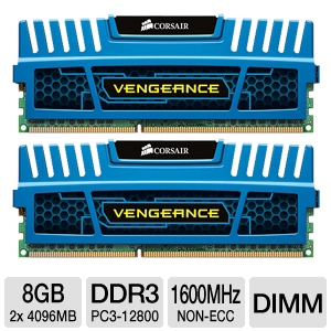 Corsair Vengeance 8GB Desktop Memory Kit