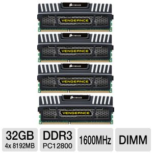 Corsair Vengeance 32GB Desktop Memory Module Kit