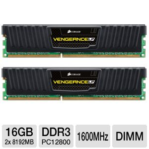 Corsair Vengeance LP 16GB Memory Module Kit