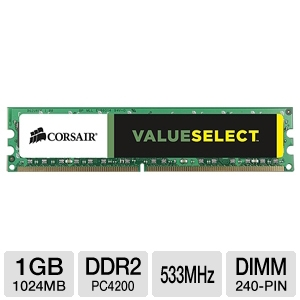 Corsair 1024MB PC4200 DDR2