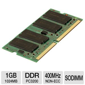 Corsair 1024MB PC3200 SODIMM