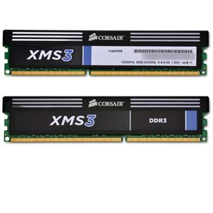 Corsair CMX8GX3M2A1333C9 XMS 8GB DDR3 RAM