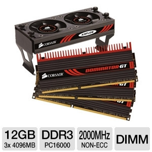 Corsair Dominator GT Tri Channel 12GB PC16000 DDR3