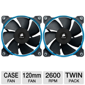 Corsair SP120 Quiet Edition Twin Pack