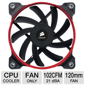 Corsair AF120 Quiet Edition High Airflow Fan