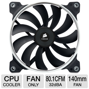 Corsair  AF140 Quiet Edition High Airflow Fan