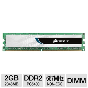 Corsair Value Select 2GB Memory Module