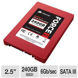 Corsair Force Series GT 240GB SATA III SSD