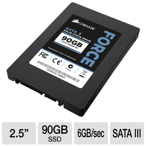 Corsair Force Series 3 90GB SATA III SSD