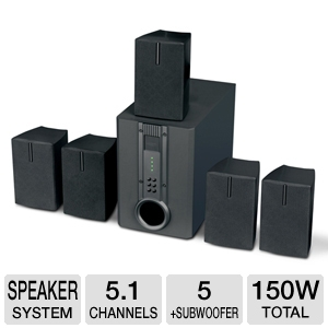 Curtis HTIB1002 Home Theater Speaker System