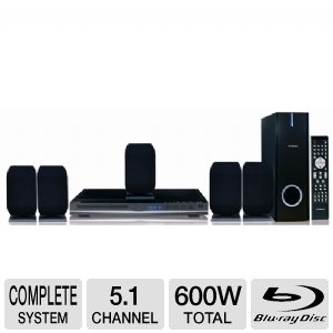Curtis DVD8532 5.1 Blu-ray HTiB Home Theater