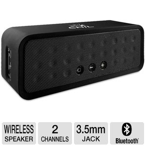 ChilBox Wireless Bluetooth Portable Speaker - <br />2 Channel, 6 Watts, 3.5mm Jack (Black, Blue, Red or Purple)&#8221; class=&#8221;aligncenter size-thumbnail&#8221; /> <strong><span style=