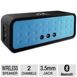 ChilBox Bluetooth Portable Blue Wireless Speaker