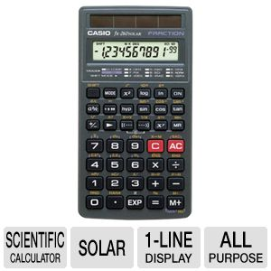 Casio FX-260 FX260SLR-SCHL-IH  Calculator