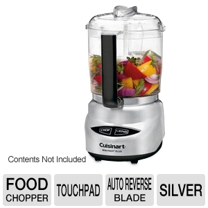 Cuisinart Chrome Mini-Prep 4-Cup Food Processor