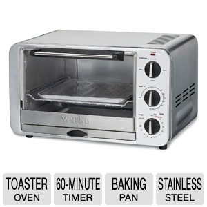 Waring Pro Stainless Steel Convection Toaster Oven
