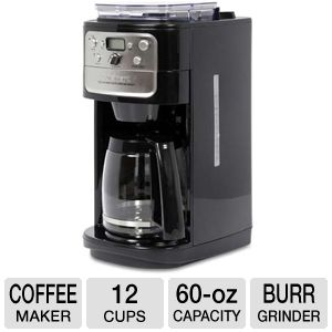 Cuisinart 60oz Capacity Grind & Brew Coffee Maker