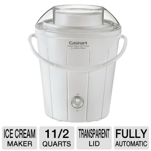 Cuisinart Classic Yogurt/ Ice Cream/ Sorbet Maker