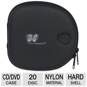 Color Research Movie/Music 20 Disc Carrying Case
